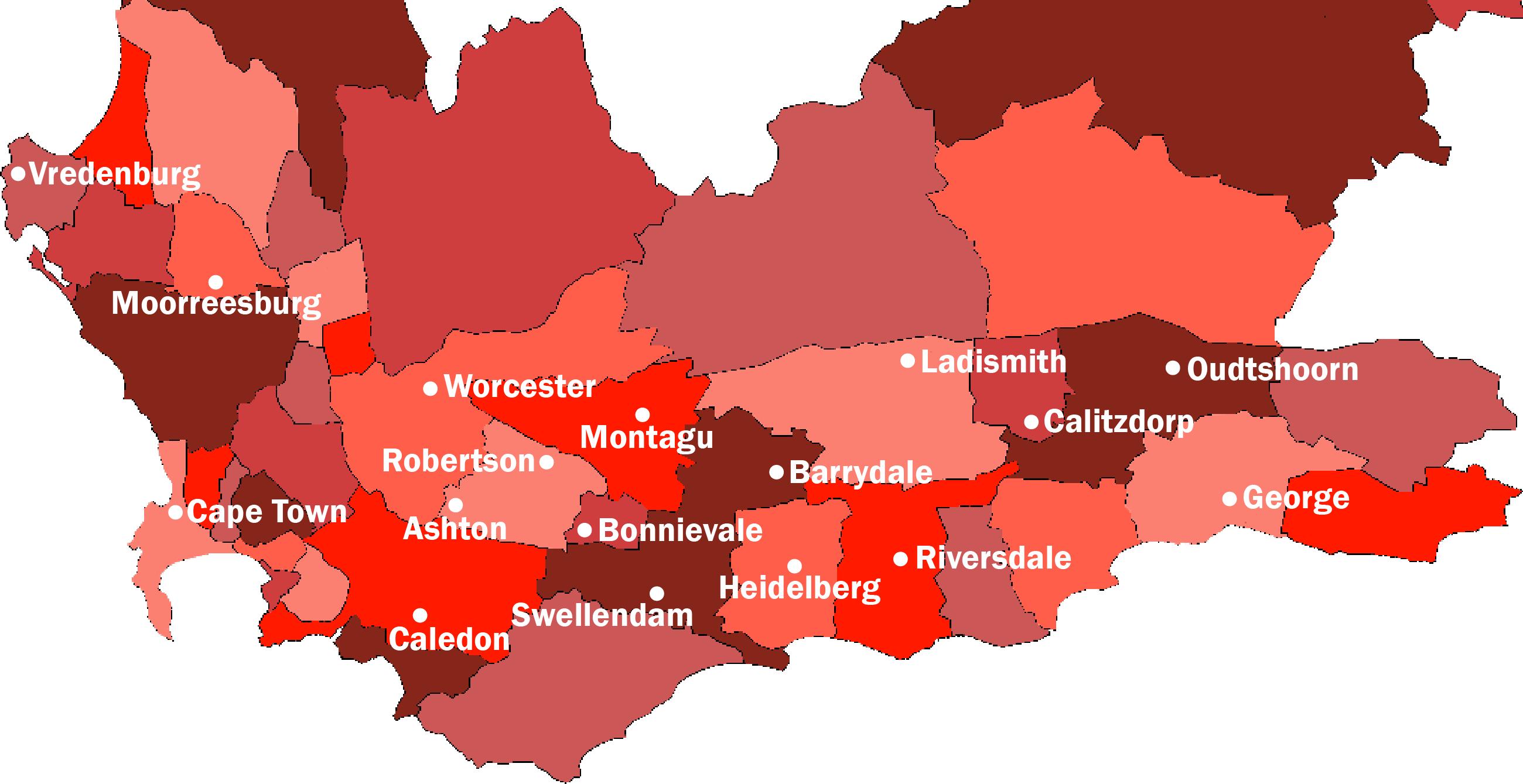 map of debots