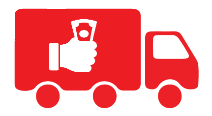 Cash On Delivery (COD) Icon